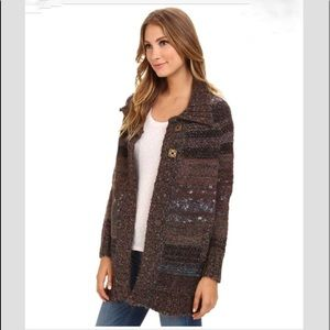 Free People Starlight Shadow Poncho S